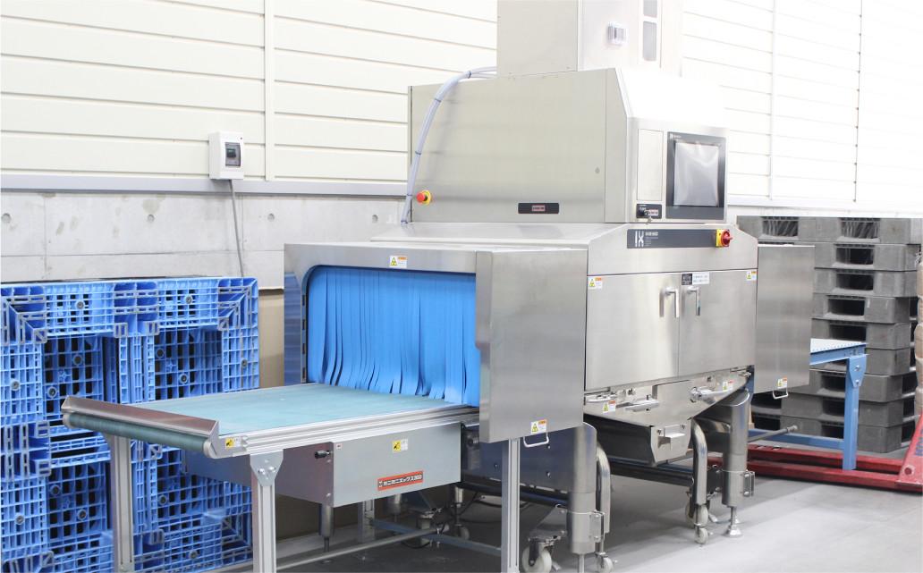 異物検出用大型X線検査機