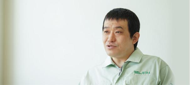 矢島 和明 / 製造部 精練課 課長